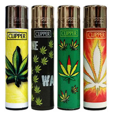 Clipper Lighter - Hojas Maria Design