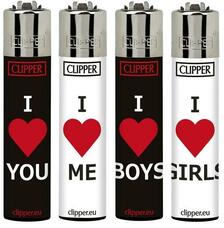 Clipper Lighter - I Heart Pride Design
