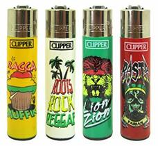 Clipper Lighter - Rasta Design