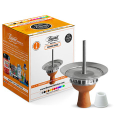 Beamer Clay Combo Hookah Bowl