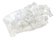 Beamer Clear Female Hookah Mouth Tips - 100-Count Pack