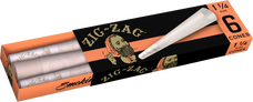 Zig Zag 1 1/4 Size Paper Cones - 6-Ct Pack