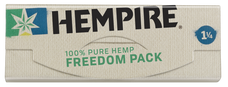 Hempire Freedom Pack 1 1/4 Size Rolling Paper with Tips