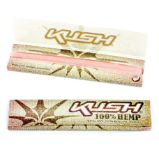 Kush King Size Pink Hemp Rolling Papers