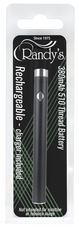 Randy's 510 Thread Vaporizer Battery - 380 mAh