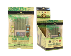 King Palm King Size Hand-Rolled Palm Leaf - 5-Ct Pack