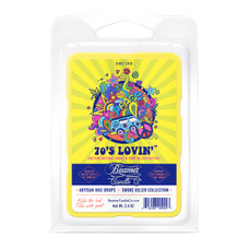 Beamer Candle Co. Smoke Killer Collection 2.4oz Wax Drops - 6-Count Pack - 70's Lovin' Scent