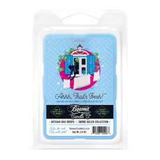 """Beamer Candle Co. Smoke Killer Collection 2.4oz Wax Drops - 6-Count Pack - """"Ahhh, That's Fresh!"""" Scent"""
