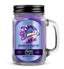 Beamer Smoke Killer Collection 12oz Candle - Blueberry High Pie Scent