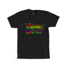 Beamer Trippy Design T-Shirt - Black Color