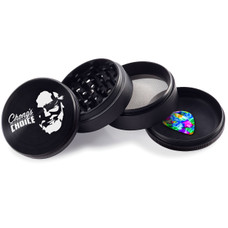 Chong's Choice 4-Piece 63mm Grinder - Face Design