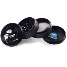 Chong's Choice 4-Piece 63mm Grinder - Smoking Design