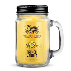 Beamer Aromatic Home Series 12oz Candle - French Vanilla