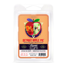Beamer Candle Co. Smoke Killer Collection 2.4oz Wax Drops - 6-Count Pack - Detroit Apple Pie Scent