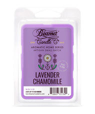 Beamer Candle Co. Aromatic Home Series 2.4oz Wax Drops - 6-Count Pack - Lavender Chamomile Scent