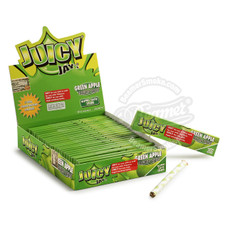 Juicy Jay's Green Apple Flavor King Size Rolling Papers
