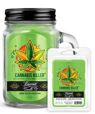 Best Selling Candle + Wax Drop Combo - Cannabis Killer