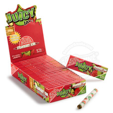 Juicy Jay's Strawberry Kiwi Flavor 1 1/4 Size Rolling Papers