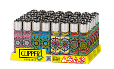 Clipper Lighter - Mandala 3 Design