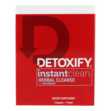 Detoxify Instant Clean Herbal Cleanse - 3 Capsule Pack