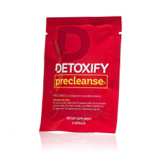 Detoxify Pre-Cleanse Herbal Supplement - 6 Capsules