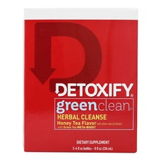 Detoxify Green Clean Herbal Cleanse Detox Drinks - Honey Tea Flavor