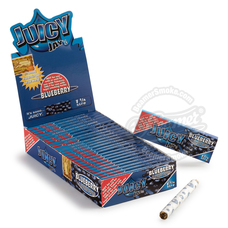 Juicy Jay's Blueberry Flavor 1 ¼ Size Rolling Papers