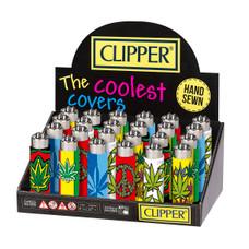 Clipper Silicone Lighter - Leaves Design