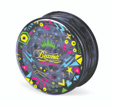 Beamer 3-Piece Acrylic Grinder - Funky Black