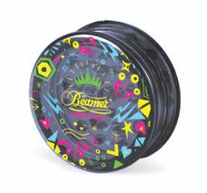 Beamer 3-Piece Acrylic Grinder - Funky Black