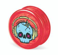 Beamer 3-Piece Acrylic Grinder - Punk Skull Red