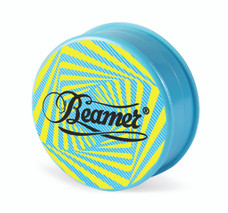 Beamer 3-Piece Acrylic Grinder - Swirl Sky Blue
