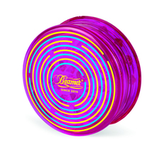 Beamer 3-Piece Acrylic Grinder - Labyrinth Purple