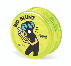 Beamer 3-Piece Acrylic Grinder - Big Blunt Yellow