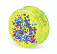Beamer 3-Piece Acrylic Grinder - 70s Lovin Yellow