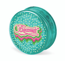 Beamer 3-Piece Acrylic Grinder - Melon Melts Aqua