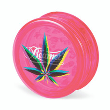 Beamer 3-Piece Acrylic Grinder - Mary Jane Pink