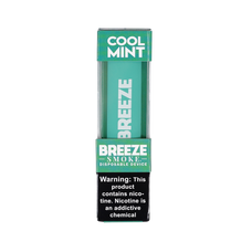 Breeze Pods 6% Nicotine Disposable Pod Device - Cool Mint Flavor