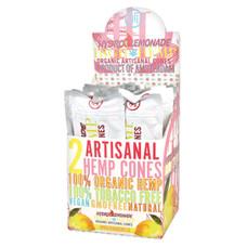 High Hemp Artisanal Hemp Cones, Hydro Lemonade Flavor - 2-Ct Packs