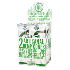 High Hemp Artisanal Hemp Cones, Natural Flavor - 2-Ct Packs