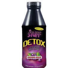 Stuff Detox 16oz Liquid Detox Drink - Gushing Grape Flavor