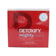 Detoxify - Mighty Clean - Herbal Cleanse - Liquid Detox Drink - Three 8oz Bottles - Tropical Flavor