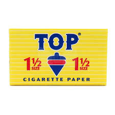 Top 1 1/2 Size Rolling Papers