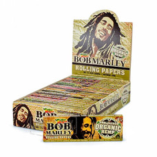 Bob Marley 1 ¼ Size Organic Rolling Papers