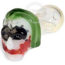 "4"" Glass Killer Clown Handpipe"