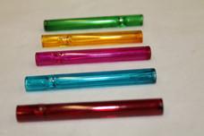 "3.5"" Glass Chillum - Thin Straight Colors"