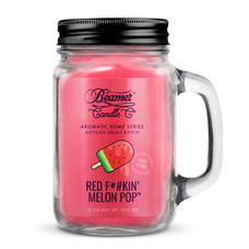 Beamer Aromatic Home Series 12oz Candle - Red F*#kin' Melon Pop Scent