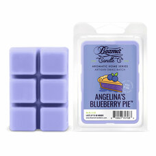 Beamer Candle Co. Aromatic Home Series 2.4oz Wax Drops - 6-Count Pack - Angelina's Blueberry Pie Scent