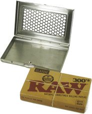 Raw Shred Case 300's Size Pack Holder w/ Attached Lid