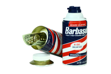 Safe Cans Barbasol Shaving Cream Storage Compartment